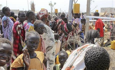 MANY SOUTH SUDANESE REMAIN IN CAMPS DESPITE TRUCE
