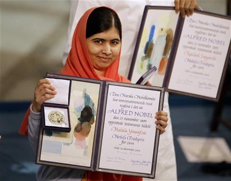 Nobel laureate Malala predicts: change is coming