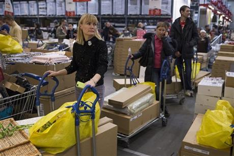 Russians flock to stores to pre-empt price rises