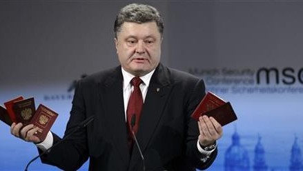 Ukraine president presses for quick cease-fire