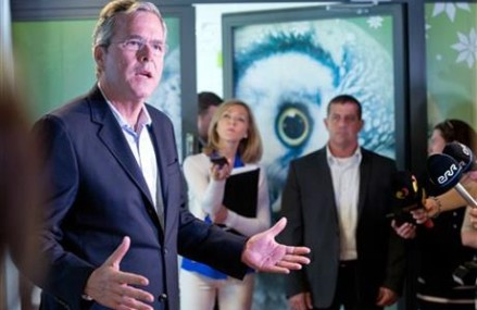 Bush happy to echo father's legacy in eastern Europe