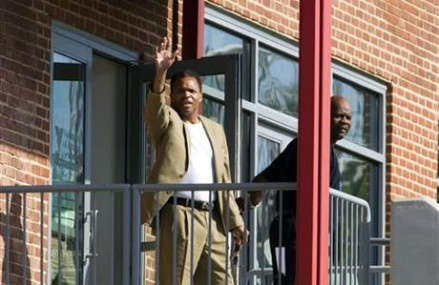 Jesse Jackson Jr. released from halfway house in Baltimore