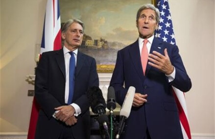Kerry: Russian fighter jets in Syria raise serious questions