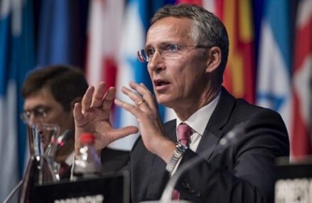NATO chief accuses Russia of prolonging war in Syria