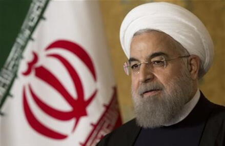 Iranian leader in France for next leg of EU trip
