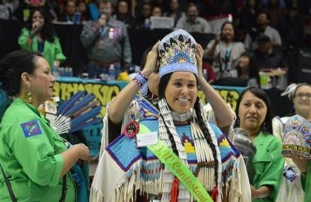 Miss Indian World crowned at nation's largest powwow