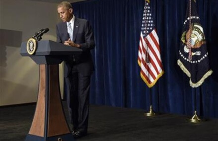 After deadly shootings, Obama says police must root out bias
