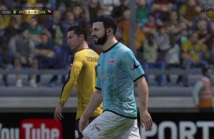 Nelson Mosby VS FIFA  Second Half
