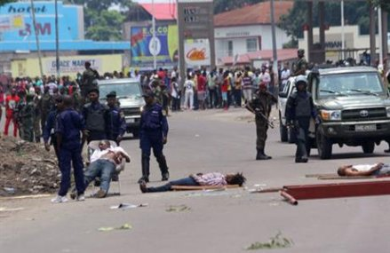 At least 4 dead amid opposition protests in Congo's capital