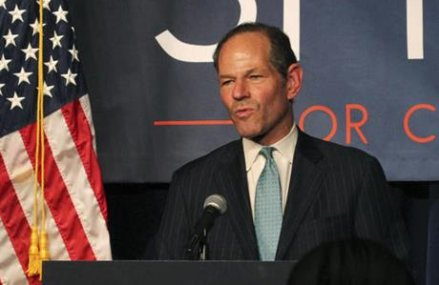 Woman accused of trying to extort money from ex-Gov. Spitzer