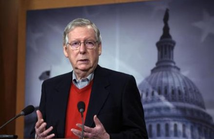 McConnell rejects calls for select panel on Russian meddling