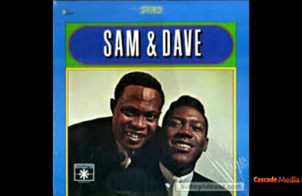 """""""R&B IN Black"""" Cascade Media Group's New R&B Series Featuring Sam & Dave Album Covers"""