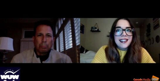 What's Up Latin America Series Host Jacquelyn Aguirre Interviews Dr. C. David Rios