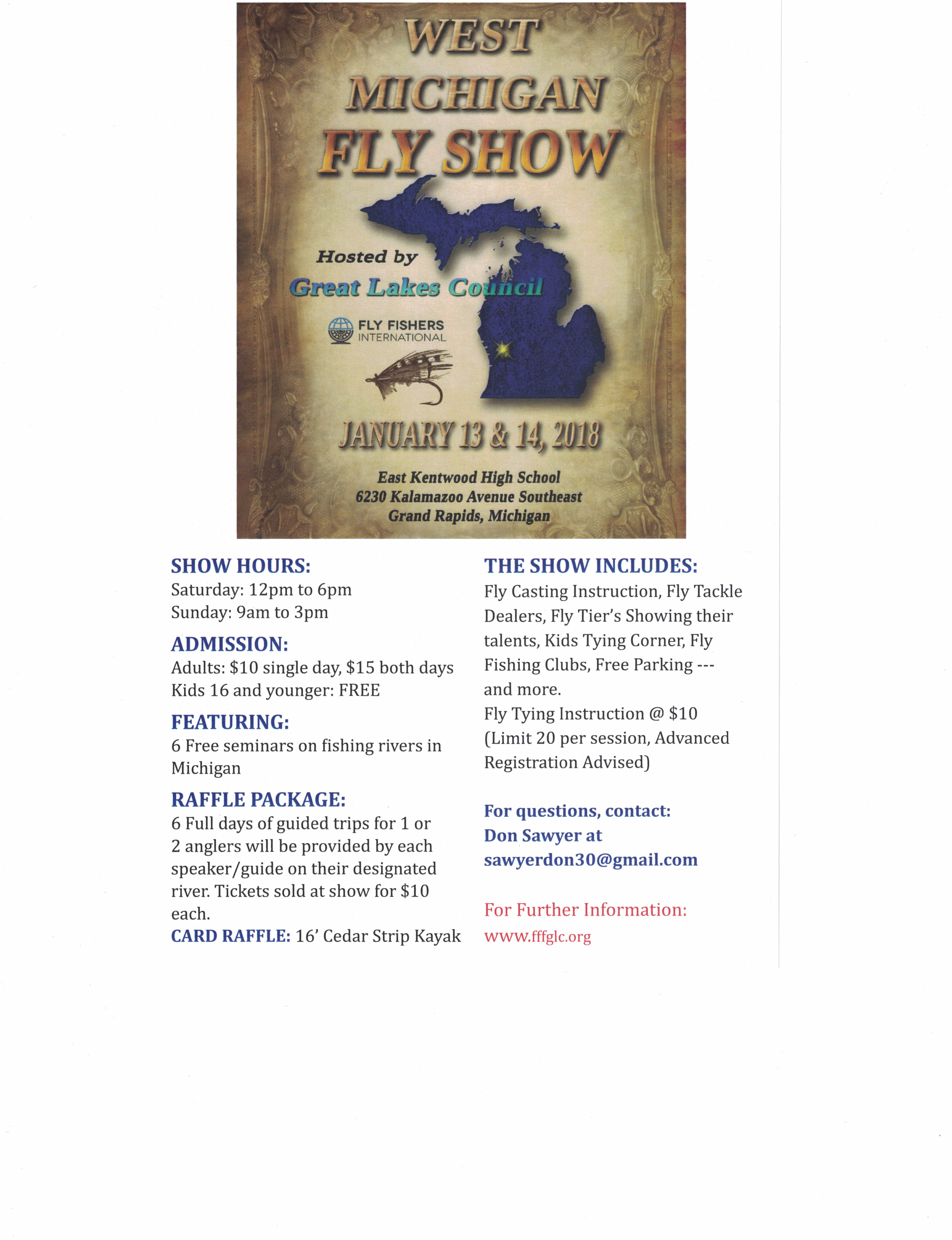 West Michigan Fly Show10282017