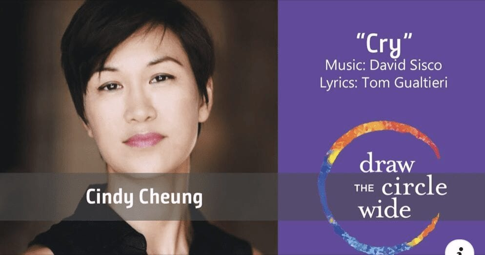 Cindy Cheung's performance of Cry from Draw the Circle Wide is released.