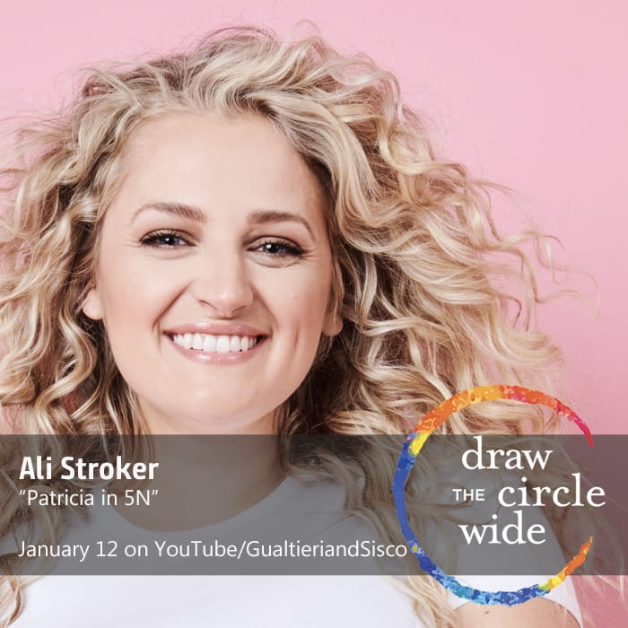 """Ali Stroker Sings """"Patricia in 5N"""" from Gualtieri&Sisco's Draw the Circle Wide Series"""