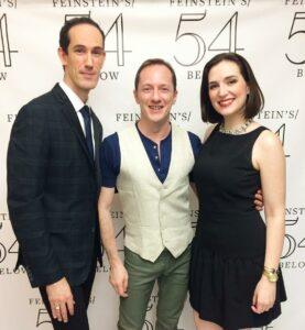 David & Tom w/Christiana Cole at Feinstein's/54 Below (2015)