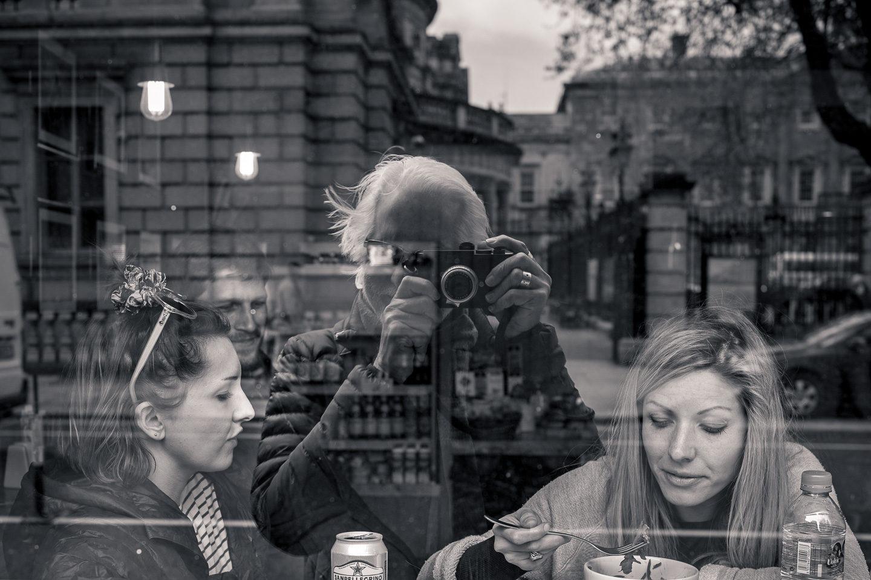 Self-Portrait in Dublin Window
