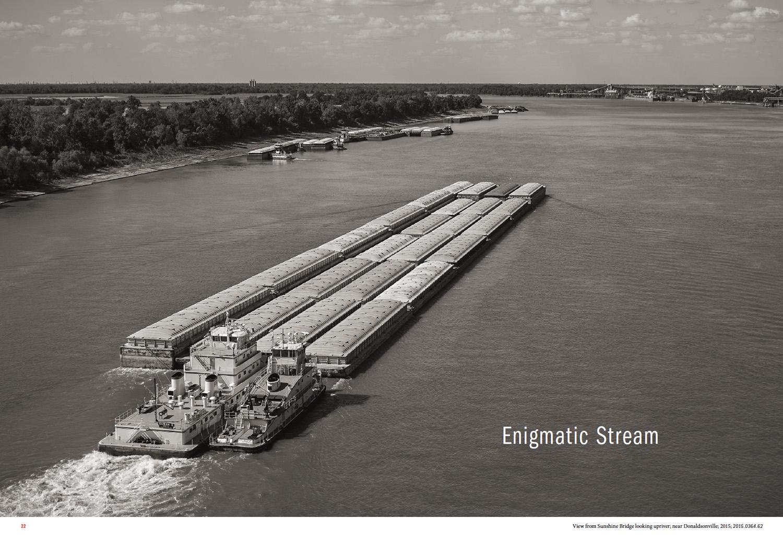 Enigmatic Stream, opening spread