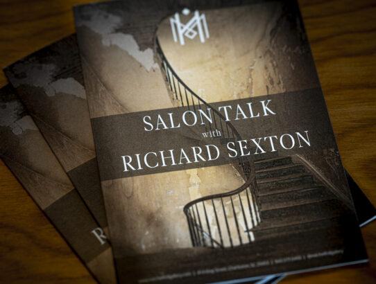 Salon Talk at Mitchell Hill in Charleston, SC