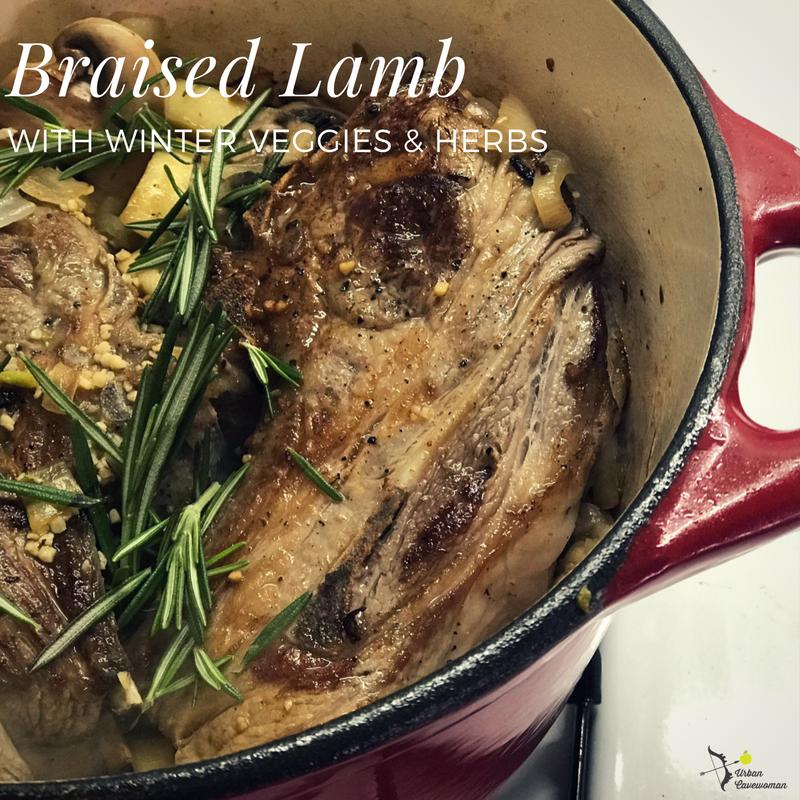 Braised Lamb Shoulder Chop
