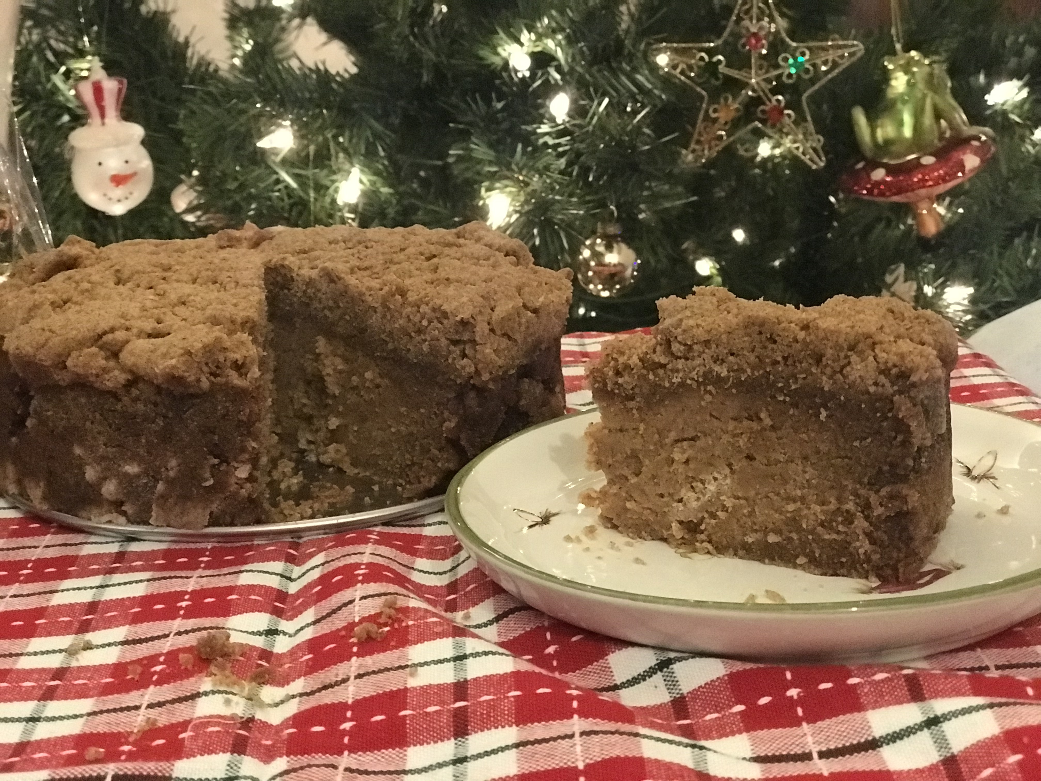 Christmas Coffee Cake (Paleo, Gluten Free, Grain Free)