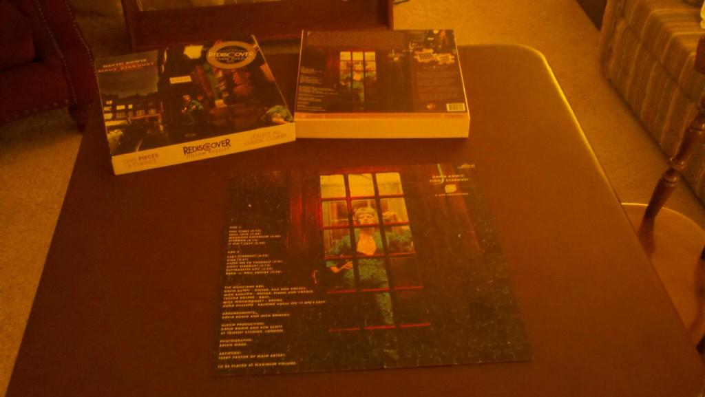 Bowie Album Puzzle