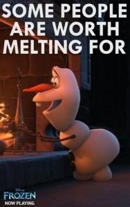 Olaf Melting