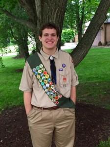 Josh as Eagle Scout