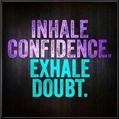 Confidence and Doubt