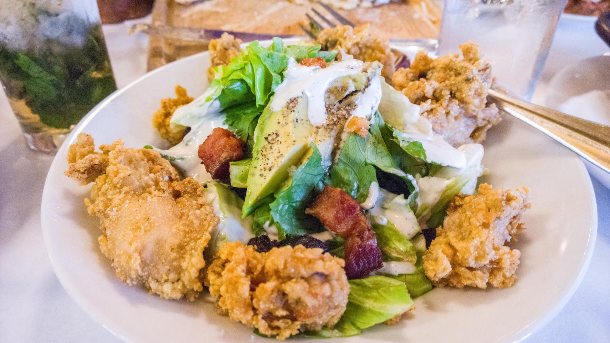 oyster salad recipes