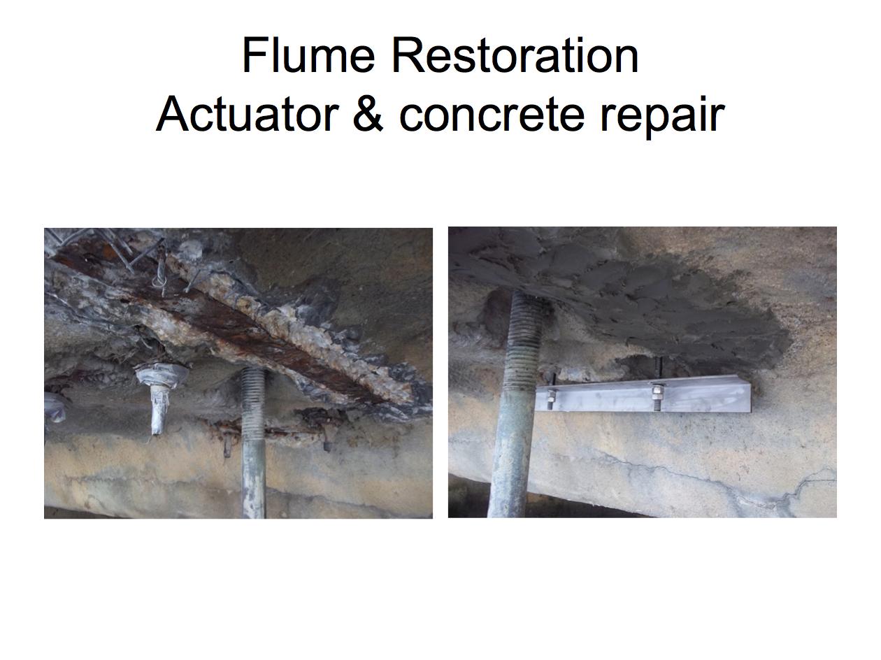 Actuator and Concrete Repair
