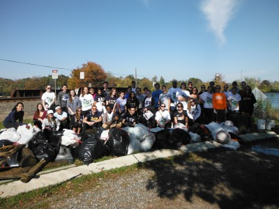 Deal Lake October Cleanup