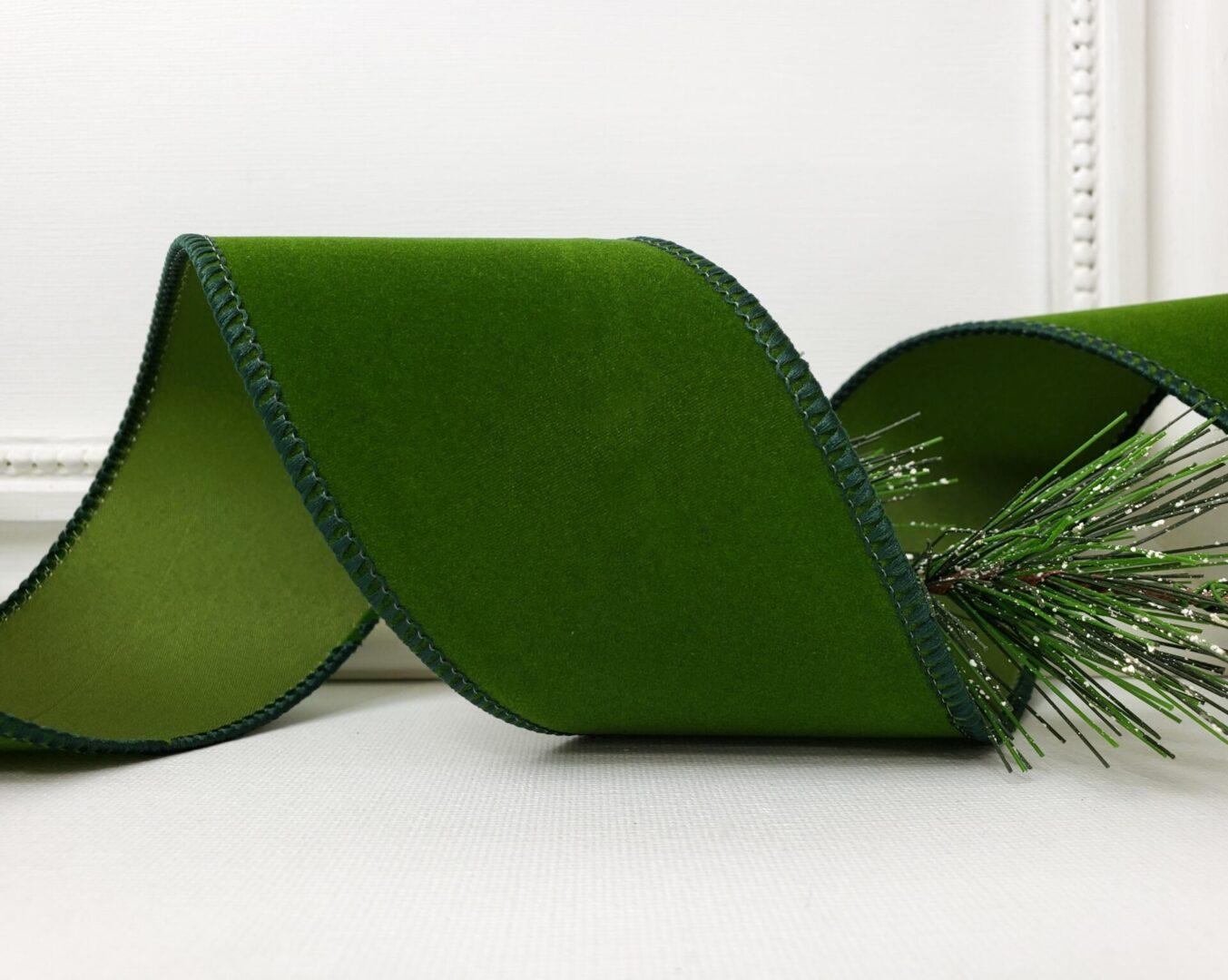 Hunter Moss Green velvet 40-004