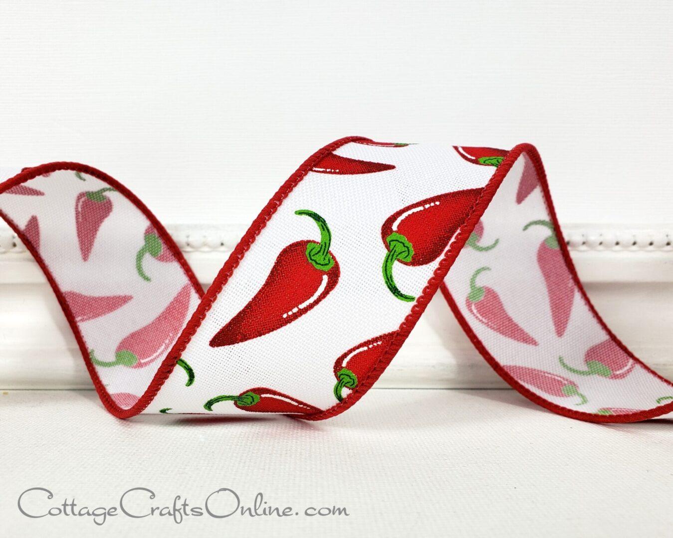 chili pepper red white rr-001