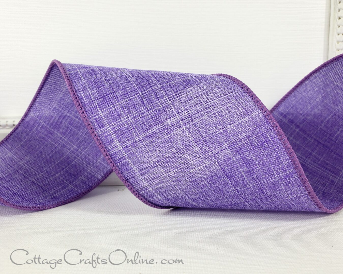 ol divinely royal 3 inch lilac purple linen style-001