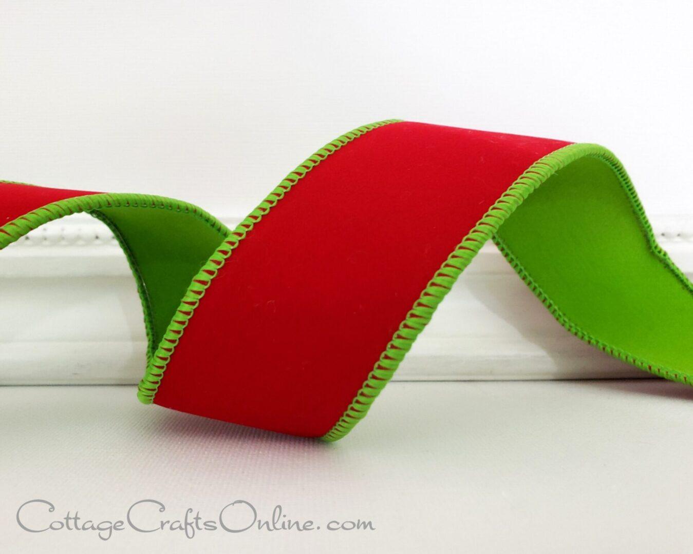 Christmas Red Green Velvet Duet Rochester ol 9-009