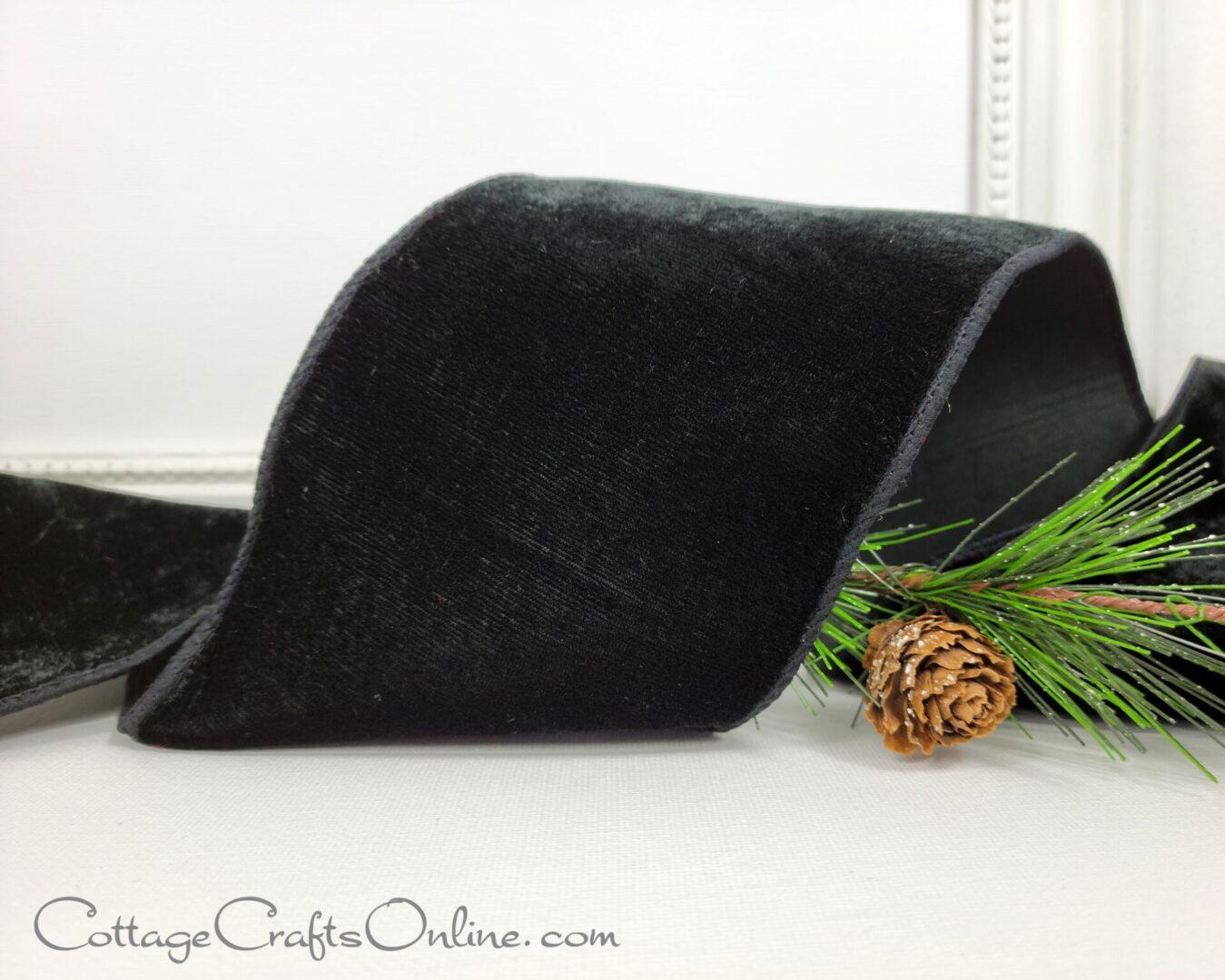 black velvet dupioni back 100 fs-007