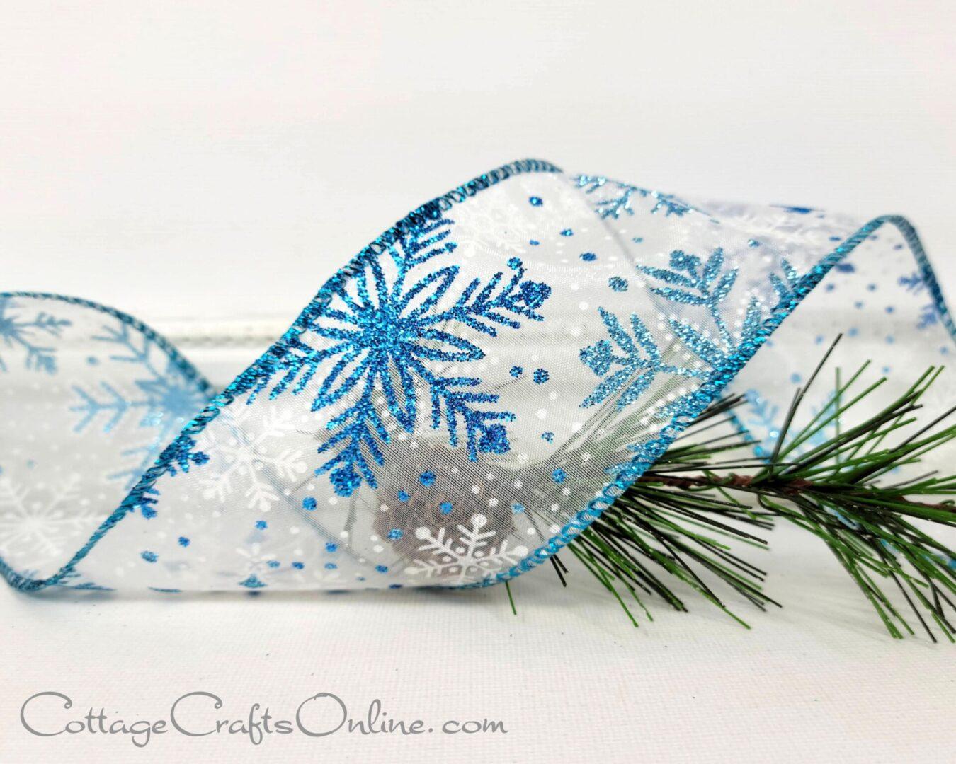 lasser blue aqua silver snowflake oll401 239-006