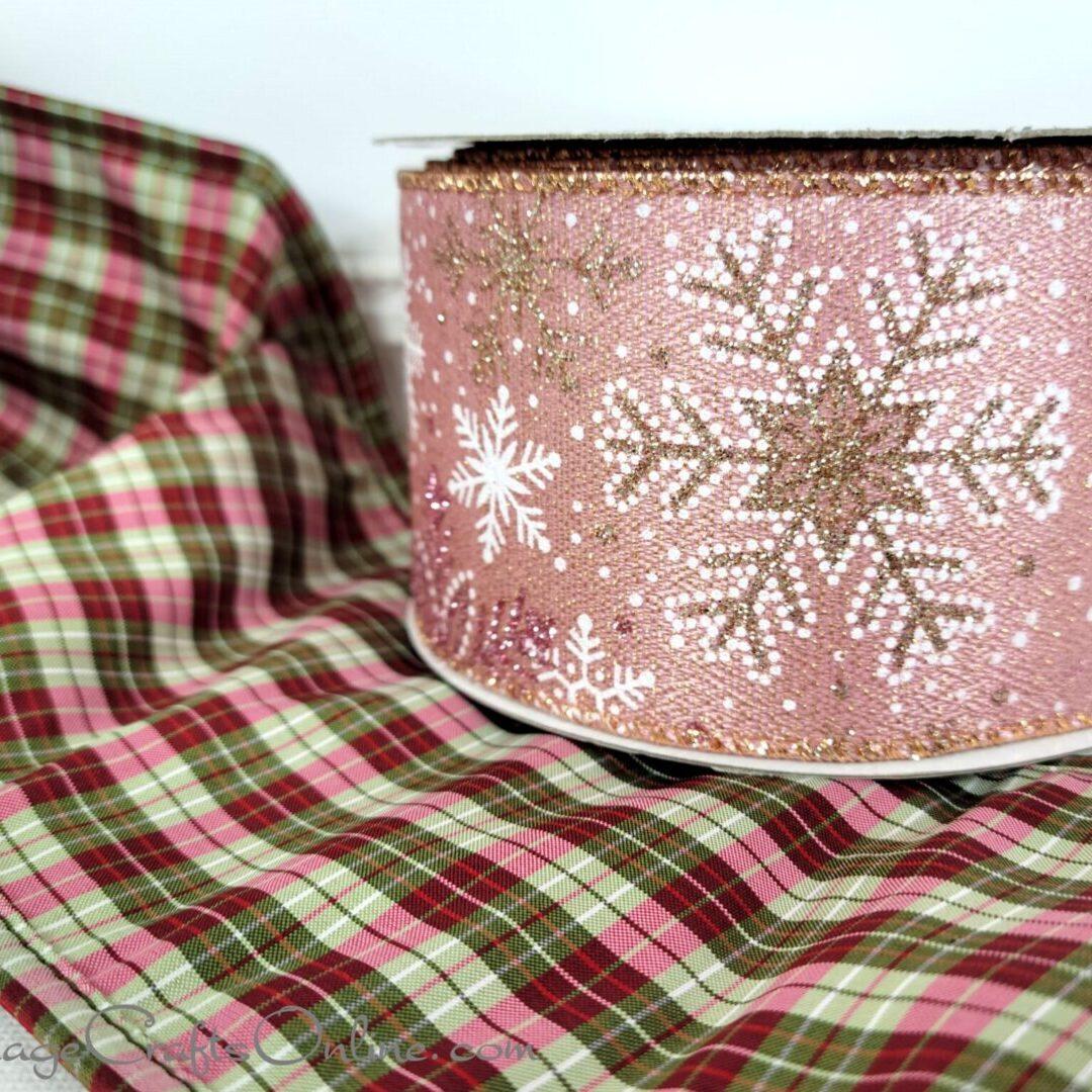 pink snowflake gold glitter ol 40 combo salisberry