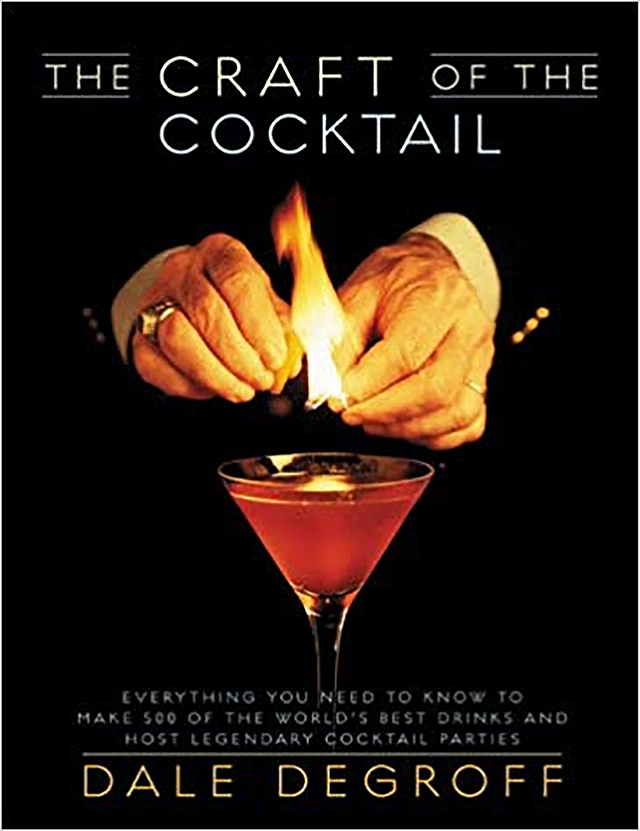 dale degroff: Portada de The Craft of the Cocktail, 2002.