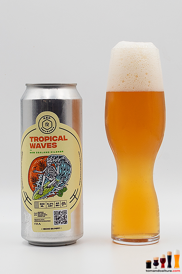 Tropical Waves: amargor pronunciado y 5,3 % alc./vol.