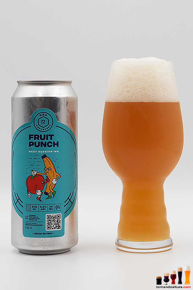 Fruit Punch: amargor moderadamente pronunciado y 4,5 % alc./vol.