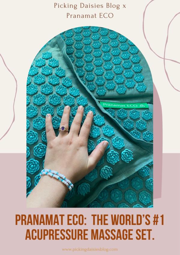 PRANAMAT ECO:  the world's #1 acupressure massage set.