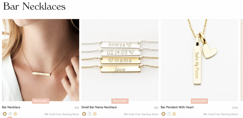 Necklaces  CUSTOM NECKLACES  Modern necklaces to wear everyday. From silver necklaces to gold chain necklaces we've got you covered. Whether you like a minimalist chain necklace or standout stack of layered necklaces - you can create your signature look.