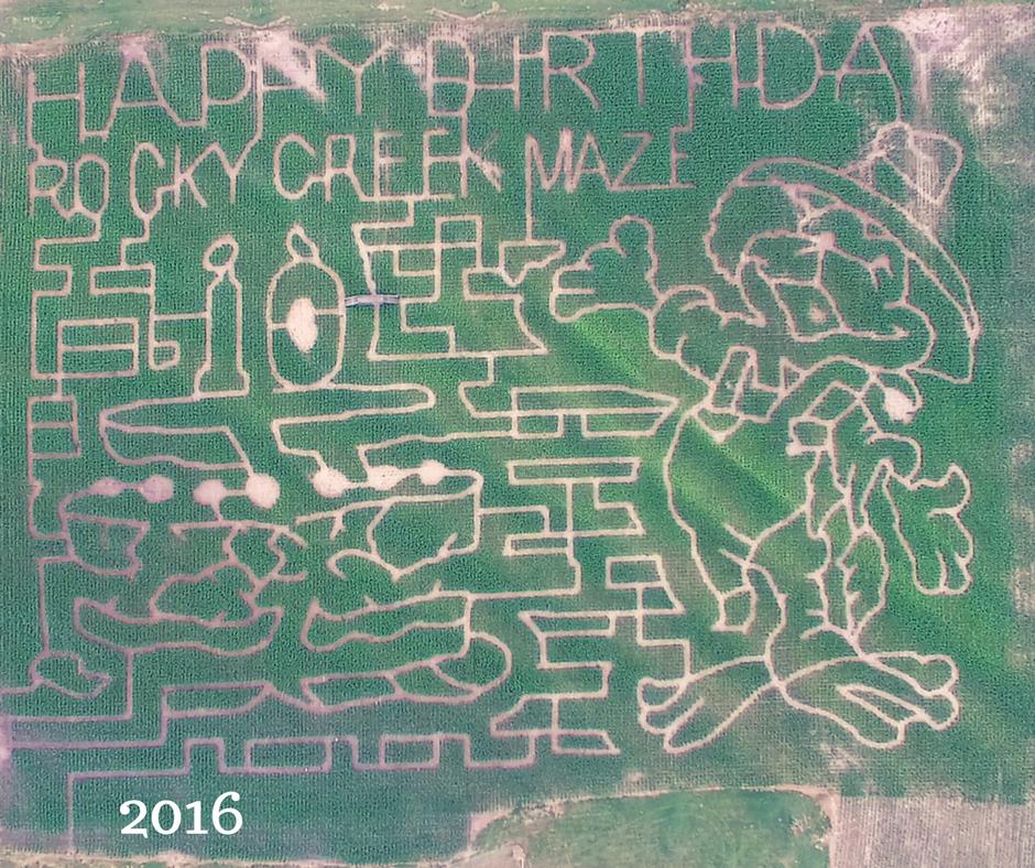 2016 maze design