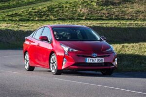 best car for uber: Toyota Prius Hybrid
