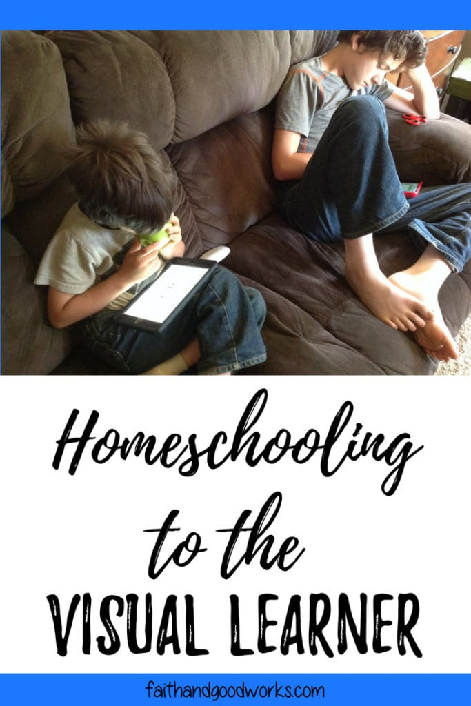 homeschooling to the visual learner