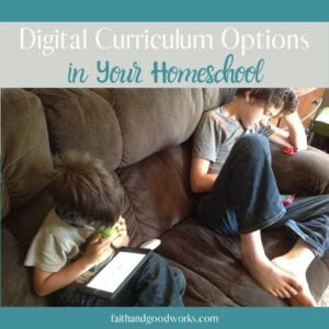 digital curriculum options.