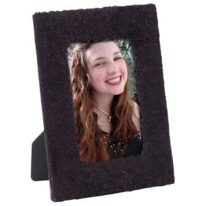 Black Furry Fabric Frame FF-002.jpg